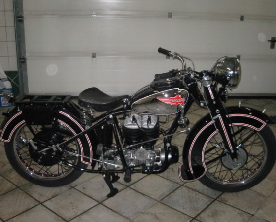 Restauration Puch 500 Luxus